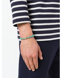 Fefe - Blue Beaded Bracelet - Lyst