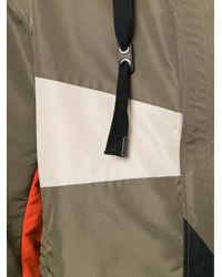 Lanvin - Green Colour Block Windbreaker for Men - Lyst