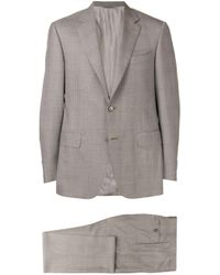 Canali - Gray Glen Check Two-piece Formal Suit for Men - Lyst