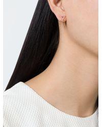 Eshvi - Pink 'june' Earrings - Lyst