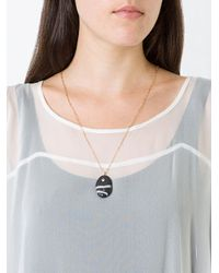 Cvc Stones - Metallic Bruca Pebble Necklace - Lyst