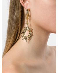 Ellery - Metallic Strangerland Large Sun Earrings - Lyst