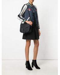 COACH - Black Courier Bag - Lyst
