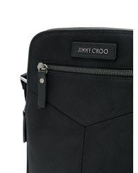 Jimmy Choo - Black Blaine Messenger Bag for Men - Lyst