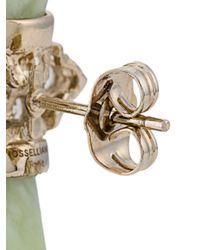 Iosselliani - Metallic Burma Jade Single Earring - Lyst