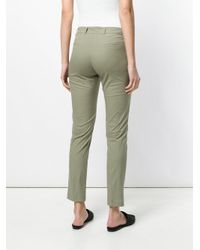 Twin Set - Green Slim-fit Trousers - Lyst