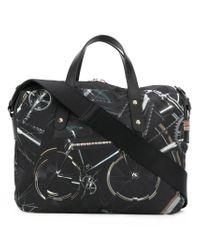 Paul Smith - Black Bike-print Business Folio for Men - Lyst