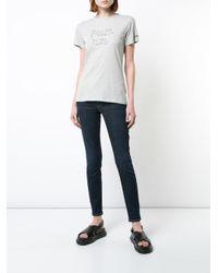Bella Freud - Gray Political T-shirt - Lyst
