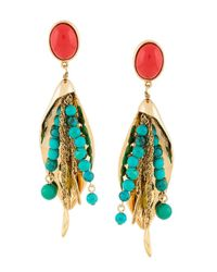 Aurelie Bidermann - Metallic Monterosso Earrings - Lyst