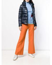 Peuterey - Blue Zipped Padded Jacket - Lyst
