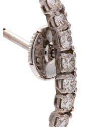 Yvonne Léon - Metallic Diamond Creeper Earring - Lyst