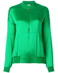 P.A.R.O.S.H. - Green Safira Zip-up Jacket - Lyst