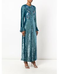 Temperley London - Blue Wild Horse Jumpsuit - Lyst
