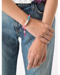 Venessa Arizaga - Pink 'lets Bone' Bracelet - Lyst