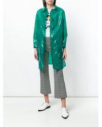Aspesi - Green Gelée Raincoat - Lyst