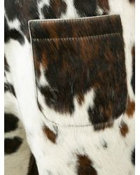 Vivienne Westwood - Brown Cow Skin Shorts for Men - Lyst