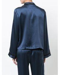 Morgan Lane - Blue Ruthie Pyjama Top - Lyst