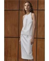 C/meo Collective - White Two Can Win Top - Lyst