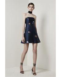 Keepsake - Blue After Glow Dress - Lyst