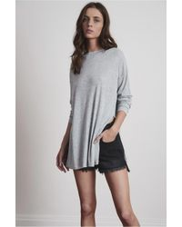 The Fifth Label | Gray Time Lapse Long Sleeve Top | Lyst