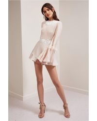 Keepsake - Pink All Mine Playsuit - Lyst
