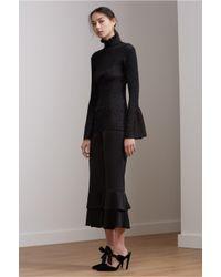 Keepsake - Black Element Long Sleeve Knit Top - Lyst
