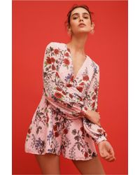 cca6fab3c1a Lyst - Keepsake Need You Now Playsuit in Pink