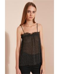 The Fifth Label - Black Night Vision Top - Lyst