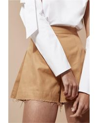 C/meo Collective - Brown Blind Truth Short - Lyst