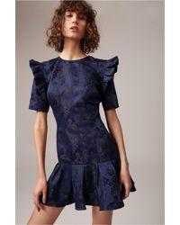 C/meo Collective - Blue Levity Mini Dress - Lyst