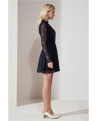 The Fifth Label - Blue Undercover Long Sleeve Dress - Lyst