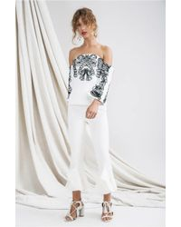C/meo Collective | White Paradise Top | Lyst