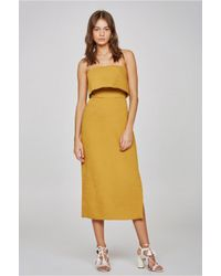 C/meo Collective | Yellow Love Like This Dress | Lyst