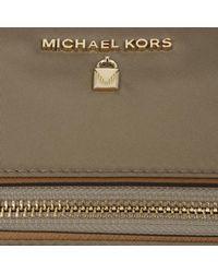 Michael Kors - Brown Nylon Kelsey Md Tz Tote Dusk - Lyst