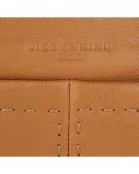 Liebeskind Berlin - Brown Heavy Stitch Crossbody Bag Cognac - Lyst