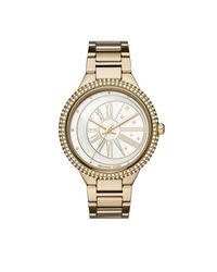 Michael Kors - Metallic Mk6550 Taryn Jetset Watch Gold - Lyst