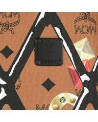 MCM - Brown Shopper Project Motif Print Reversible Cognac - Lyst