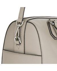 0c7ac06cfc0a Michael Kors Mercer Md Leather Duffle Bag Cement - Lyst