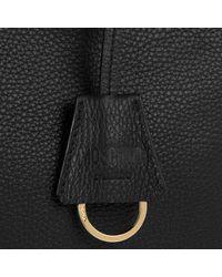 Moschino - Logo Shopping Bag Two Way Zipper Black - Lyst