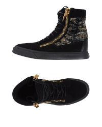 Giuseppe Zanotti | Black High-tops & Trainers for Men | Lyst