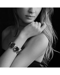 David Yurman - Black Grisaille Cuff With Hematine, Crystal, And Diamonds - Lyst