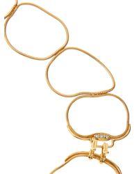 Fernando Jorge | Metallic 18karat Rose Gold Diamond Necklace | Lyst