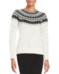 Bailey 44 | Natural Embellished Sweater | Lyst