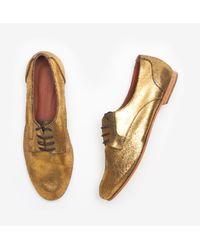 Rachel Comey - Metallic Novak Oxfords - Distressed Gold - Lyst