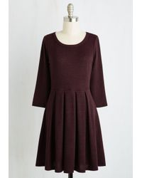 Gilli - Brown Soft Spot Dress - Lyst