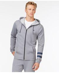 Hurley | Gray Carmel Fleece Full-zip Hoodie for Men | Lyst