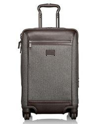Tumi | Gray 'astor - Osborne' 4-wheeled Carry-on Suitcase for Men | Lyst