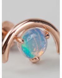 Wwake - Blue Large Arc Earrings - Lyst