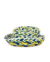 Missoni - Natural Woven Straw Hat - Lyst