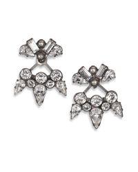 DANNIJO | Metallic Summer Crystal Earrings | Lyst